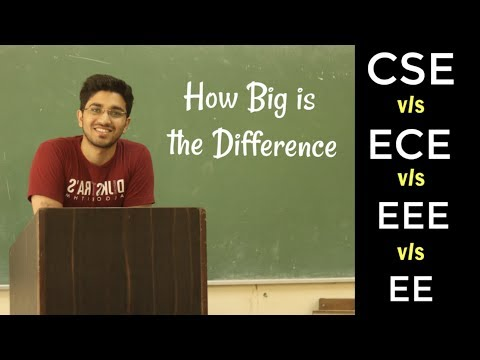 CSE vs ECE vs EEE vs EE | Which one is good for you ?