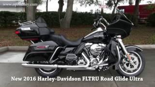 10. 2016 Harley Davidson Road Glide Ultra Black for sale