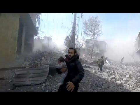 Mehr als 100 Tote nach Angriffen auf syrisches Rebell ...