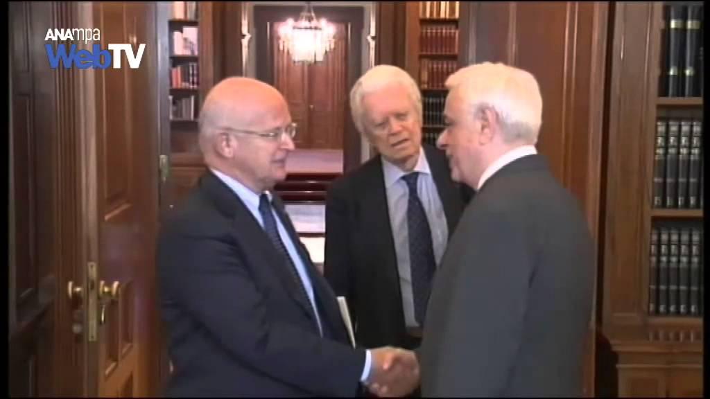 Συνάντηση Π. Παυλόπουλου με  καθηγητές αρεχαιολογίας για επιστροφή των Γλυπτών  του Παρθενώνα