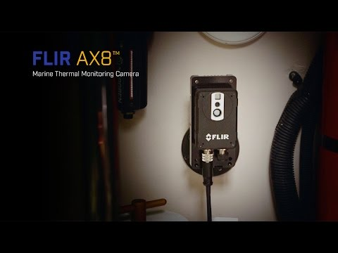 FLIR AX8 Thermal Engine Room Monitoring