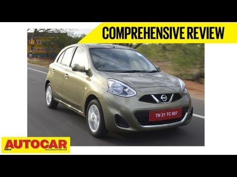 Nissan Micra 2013 Facelift & CVT   Comprehensive Review   Autocar India