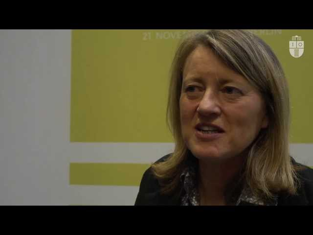 Helen Margetts Interviewed at the Chances and Risks of Social Participation conference (HIIG)