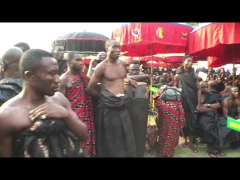 Ghanaians Abroad Mourns With ASANTEMAN/MANHYIA (видео)