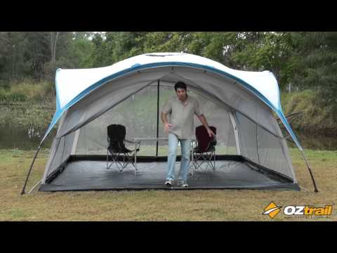 OZtrail Festival 15 Full Screen Inner & OZtrail TV - Product videos and information