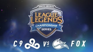 Video C9 vs. FOX - Week 2 Day 1 | NA LCS Spring Split | Cloud9 vs.Echo Fox (2018) MP3, 3GP, MP4, WEBM, AVI, FLV Juni 2018