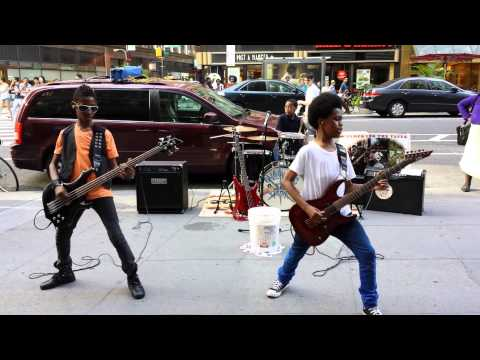 """Unlocking the Truth"" live in Times Square, 2013"