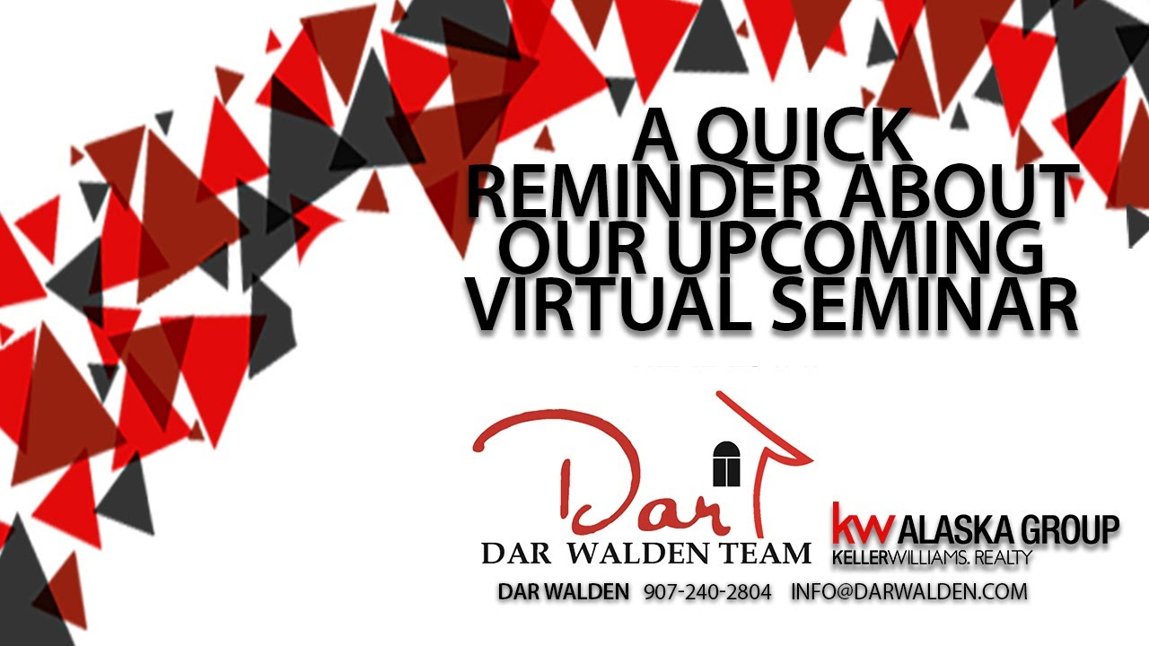 Don't Forget to Sign Up for Our Upcoming Virtual Seminar