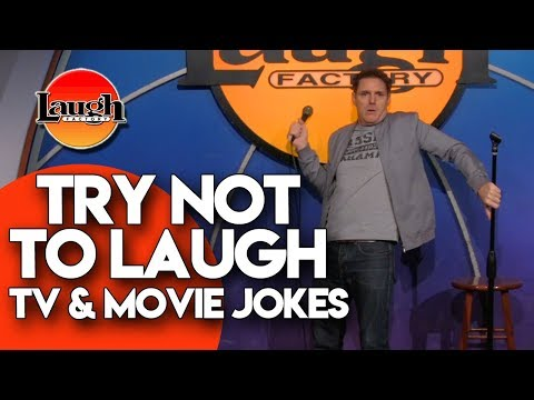 Try Not to Laugh | TV and Movie Jokes | Laugh Factory Stand Up Comedy