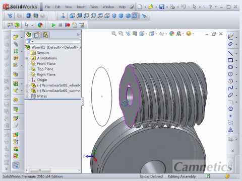 GearTeq - Worm Gear Set Creation Video