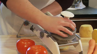 7. PL8® Professional Mandoline - Kitchen Demo Video - Progressive International