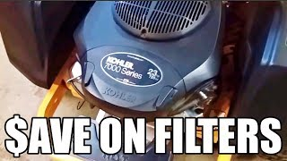 7. Kohler Filters: Watch This BEFORE you buy a Kohler oil filter at a big box store!