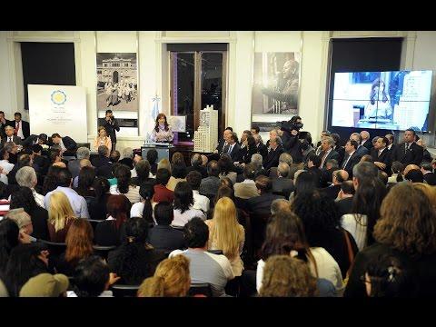 DE - 30 de septiembre de 2014, Buenos Aires: La presidenta, Cristina Fernández de Kirchner, anunció esta noche la creación, por decreto, de la secretaría de Habitat, que absorberá a la Comisión...