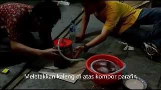 Eksperimen Distilasi Sederhana dan Cara Membuat Alat Distilasi Sederhana - SMA Kolose Kanisius