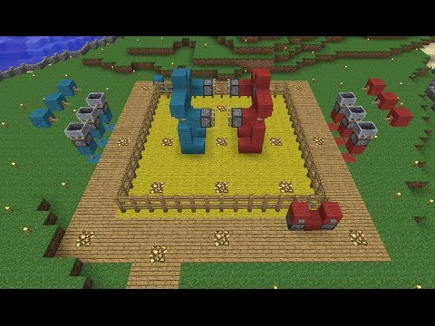 'em - I build Rock'em Sock'em Robots in my base, and attempt to murder Etho. SethBling Twitter: http://twitter.com/sethbling SethBling Facebook: http://facebook.co...