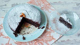 Gâteau italien au chocolat et aux amandes