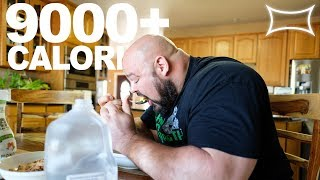 4x World's Strongest Man Day of Eating (9,000+ Calories)