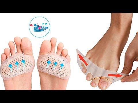 Silicone Padded Forefoot Insoles - Foot Care