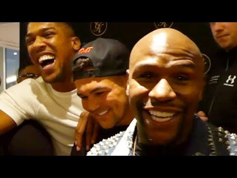 FLOYD MAYWEATHER RESPONDS TO MCGREGOR, HAS JOSHUA CRACKING UP:
