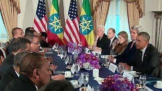 President Obama in Ethiopia