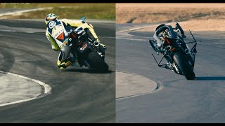 Video Yamaha MOTOBOT 2 vs. Valentino Rossi MP3, 3GP, MP4, WEBM, AVI, FLV November 2017