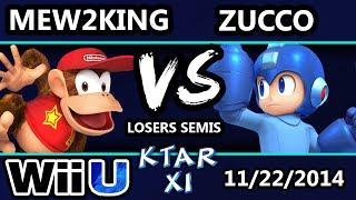 KTAR XI - Mew2King (Rosalina) Vs. Zucco (Mega Man) - Losers Semis - Smash Wii U
