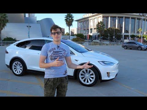 Сломалась в первый же день – Tesla Model X за 10 млн рублей! Тест-драйв и обзор (видео)