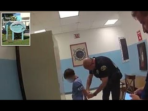 Video shows cops arresting crying boy, 8, in elementary school