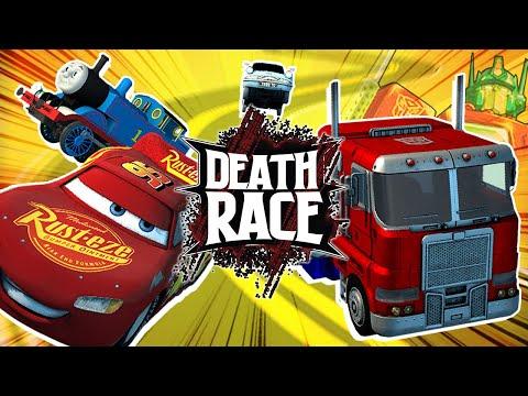 Optimus Prime VS Thomas the Tank Engine? | DEATH RACE!