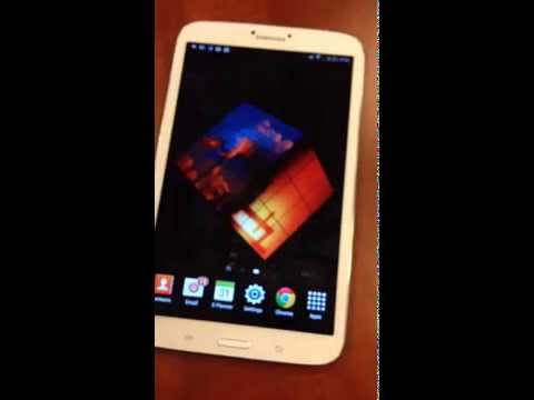 Video of 3D Cubpix Live Wallpaper