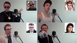 ONE GUY 22 VOICES Sam Smith Michael Jackson Bruno Mars IFunny Famous Singer Impressions