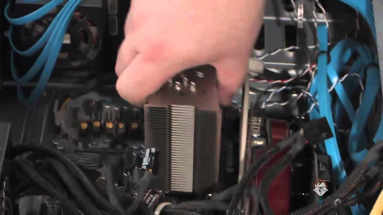 Hot and noisy computer – Replacing a loud computer fan with Noctua products (Short version)