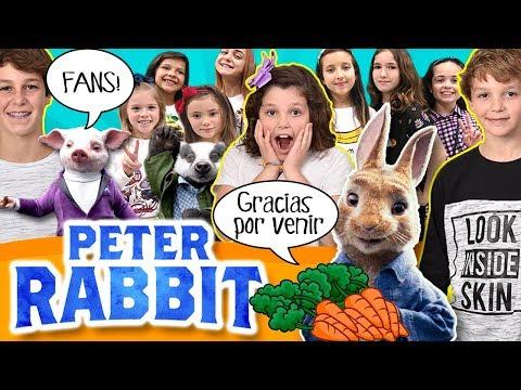 ¡¡Invitamos a 200 FANS al PreESTRENO de PETER RABBIT!! ¡¡Vemos la PELÍCULA todos Juntos!!