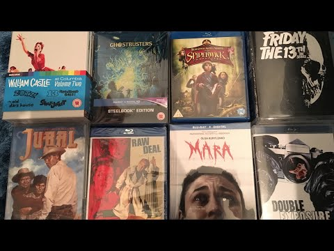 December 2018 Blu ray collection update incl: Kino, Criterion, Indicator, V Syndrome, Steelbooks