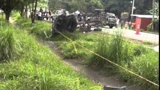 Un fallecido en accidente de tránsito en San Pedro Perulapán