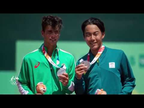 Video Rinky Hijikata wins men's international doubles silver download in MP3, 3GP, MP4, WEBM, AVI, FLV January 2017