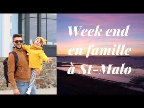 VLOG Week end en famille à St-Malo