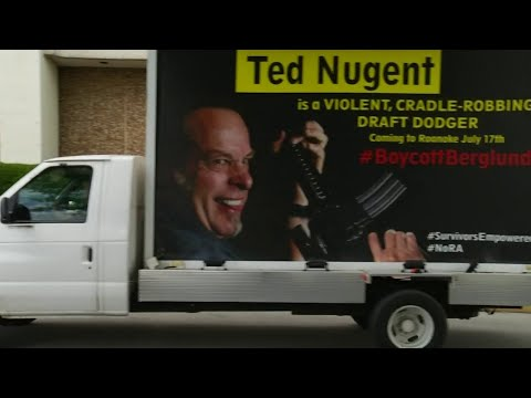 Andy Parker organizes Roanoke protest in opposition to Ted Nugent concert
