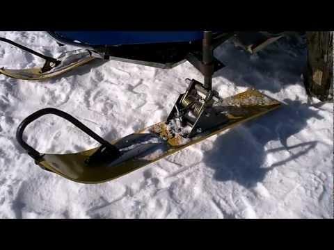 Лыжа своими руками фото