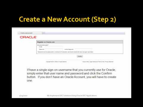 Video of Oracle Support Web