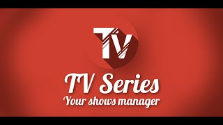 TV Series - Your shows manager YouTube video