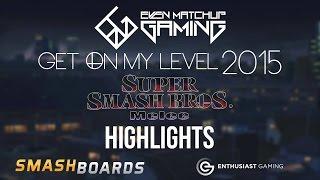 Get On My Level 2015 Highlight Reel – SSBM