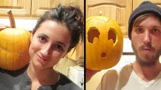 PUMPKINS THAT LOOK LIKE PEOPLE