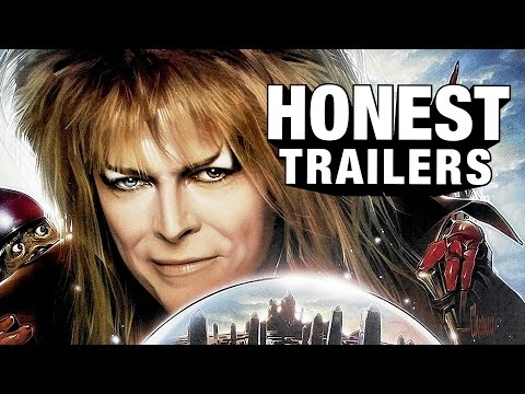 An Honest Trailer for 1986 Fantasy Film Labyrinth Featuring David Bowie as Jareth the Goblin