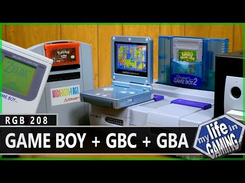 RGB208 :: Getting the Best Picture from your Game Boy / GBC / GBA Games - MY LIFE IN GAMING
