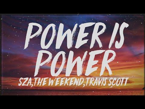 SZA, The Weeknd, Travis Scott || Power Is Power