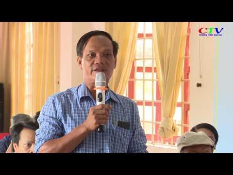 Đại biểu HĐND tỉnh tiếp xúc cử tri tại Cam Lộ