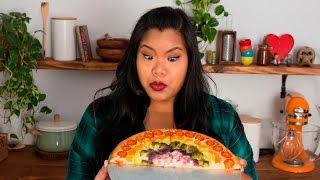 Rainbow Veggie Pizza | Jen Phanomrat by Tastemade