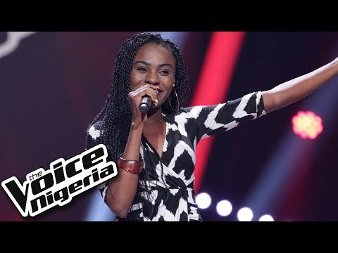 """Blessing Isaac sings """"A Woman's Worth"""" / Blind Auditions / The Voice Nigeria Season 2"""