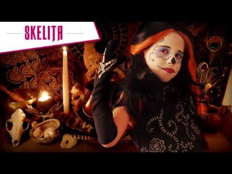 Maquilhagem de skelita - Monster High